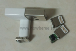 New iPhone mini docking connector photographed