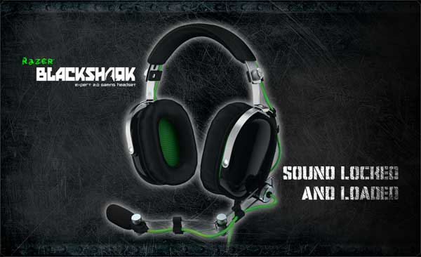 Razer unveils aviation themed BlackShark gaming headset