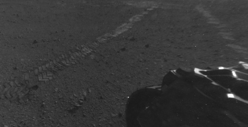 Curiosity rover leaves Mars landing site for first time