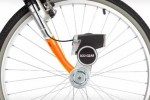 ECOXPOWER adds a headlight and smartphone charger to your bicycle