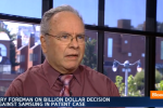 Apple vs Samsung Jury foreman speaks with Bloomberg in video interview