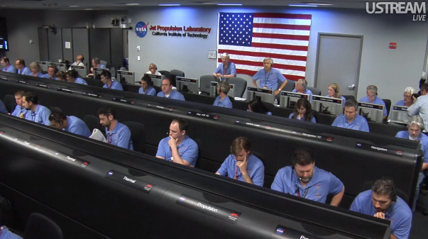 NASA Curiosity Mars landing live video feed live in last half-hour