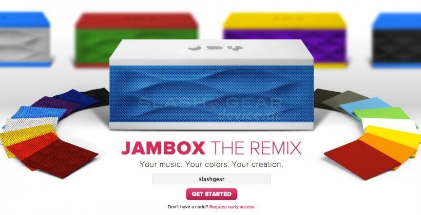 Jawbone JAMBOX The Remix delivers color-friendly custom combos