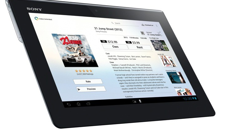Sony XPERIA Tablet S revealed with Tegra 3 and ICS