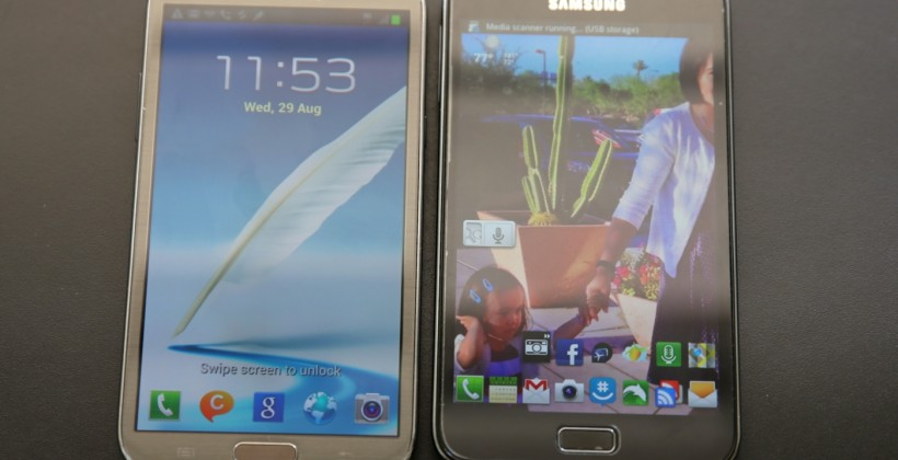Samsung Galaxy Note II vs Galaxy Note I: Specifications War