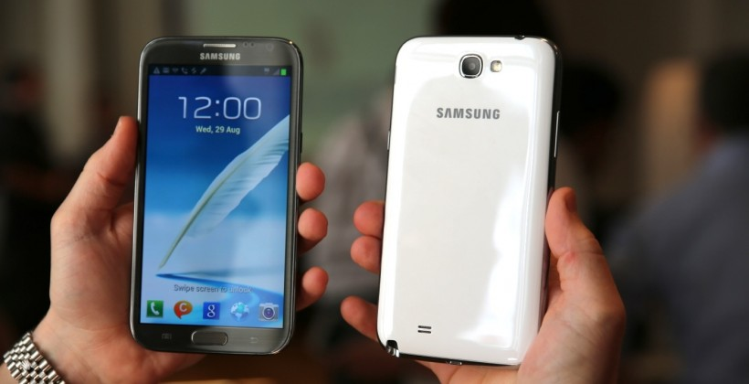 "Samsung Galaxy Note II heads to the US ""later in 2012"""
