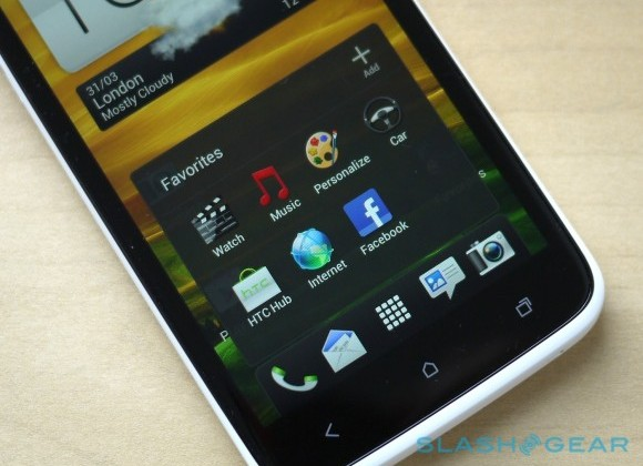 HTC One X 4.0.4 update rolling out today