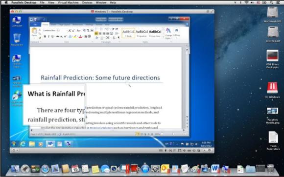 Run Windows on Mac - Parallels Desktop 15 Virtual Machine for Mac