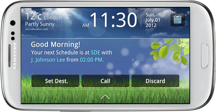Samsung pushes Galaxy S III-specific app for drivers