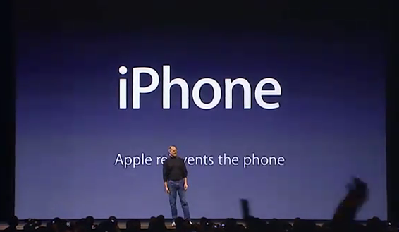 Apple's Phil Schiller reintroduces the iPhone in Samsung case
