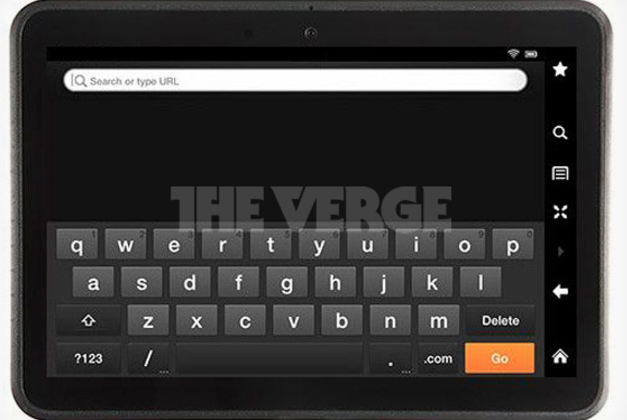 Amazon Kindle Fire 2 leaks in model photo
