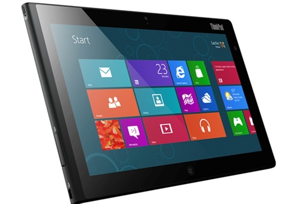 Lenovo ThinkPad Tablet 2 gets serious with Windows 8
