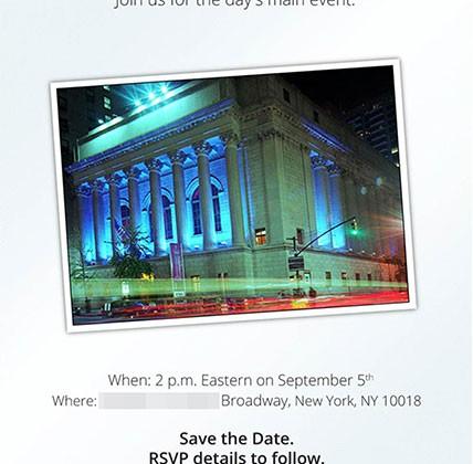 Motorola event invite set for HD device delivery