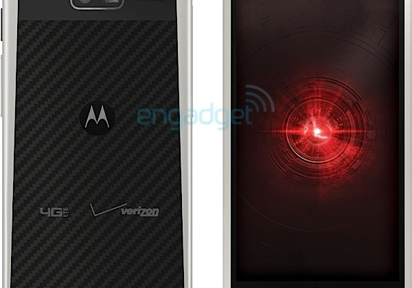 Motorola Droid RAZR M 4G LTE appears with silver trim