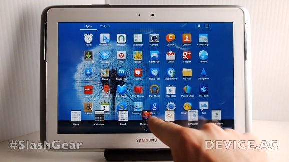 Samsung Galaxy Note 10.1 gets split-screen multitasking hands-on