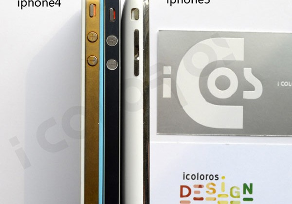 iPhone 5 HD photos appear with specific measurements