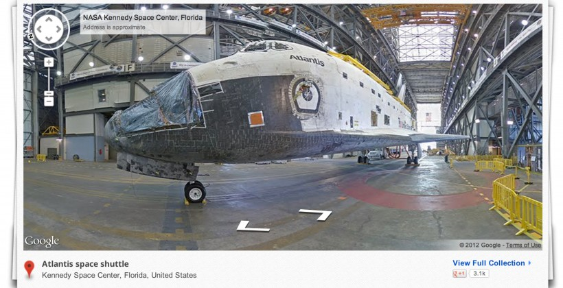 NASA Kennedy Space Center gets Street View treatment
