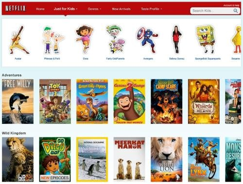 Netflix Just for Kids launches on Xbox 360