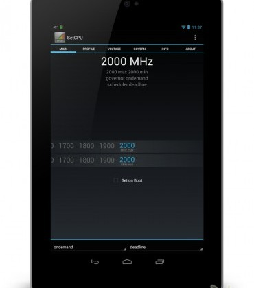 Nexus 7 2GHz overclock delivers benchmark-crushing tablet