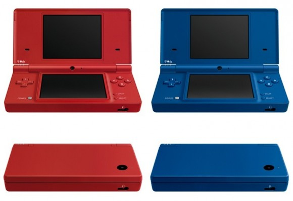 Nintendo DSi matte red and blue revealed