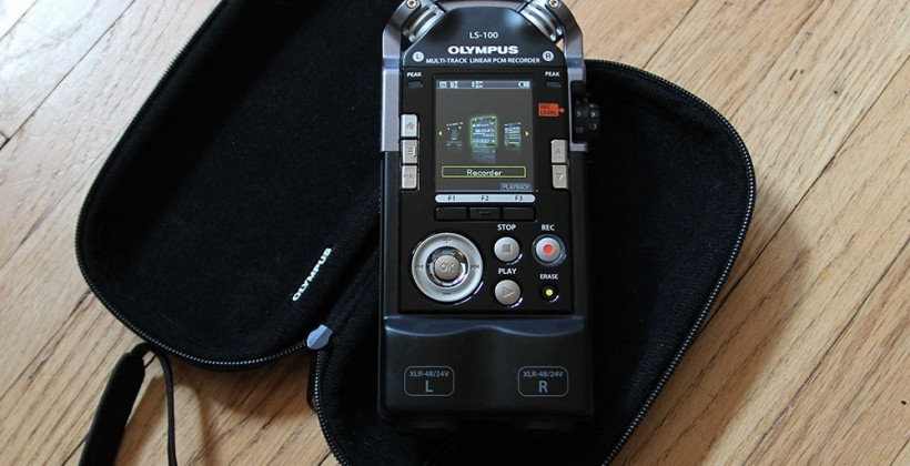 Olympus LS-100 Sound Recorder Review