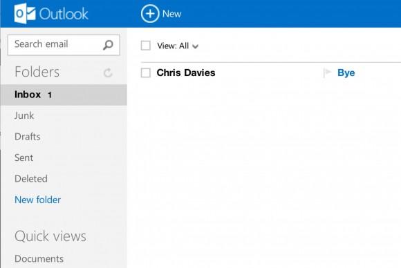 Outlook.com team teases IMAP support
