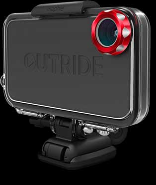 Mophie Outride turns your iPhone into a rugged sports camera
