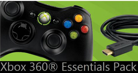 Xbox 360 Essentials Pack sets gamers up for cheap