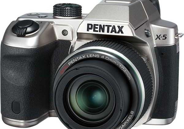 Pentax launches new X-5 super zoom digital camera