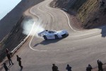 Pikes Peak racing EV catches fire