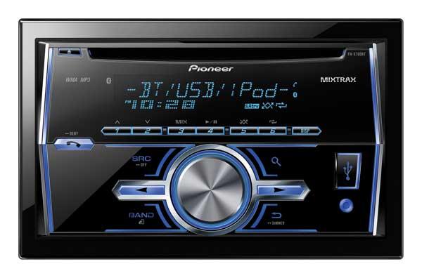Pioneer debuts six new single CD car audio receivers