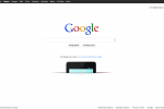 Nexus 7 shoved in Google homepage pocket
