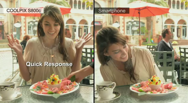 Nikon COOLPIX S800c Android camera gets video demo
