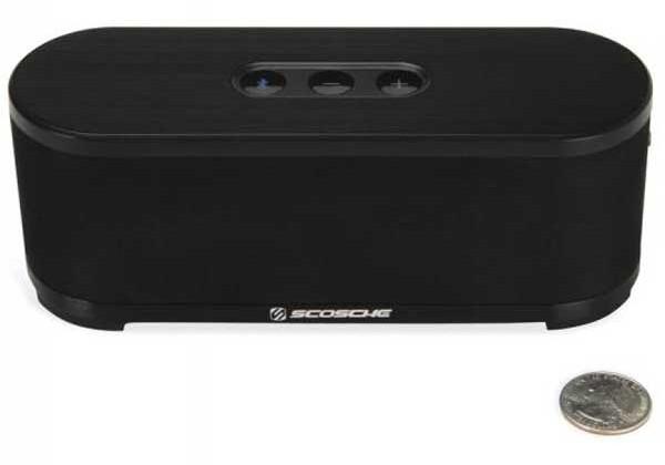 Scosche launches boomStream Bluetooth speaker