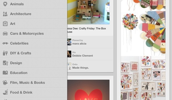 Pinterest for iPad Review