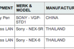 Sony NEX-5R and NEX-7 WiFi cameras leak