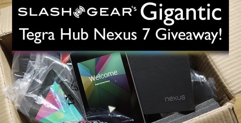 SlashGear's Gigantic Tegra Hub Nexus 7 Giveaway!