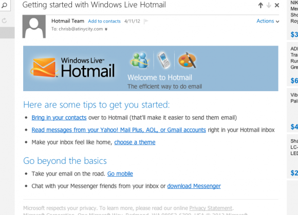 Outlook com: Hotmail users find themselves rebranded - SlashGear