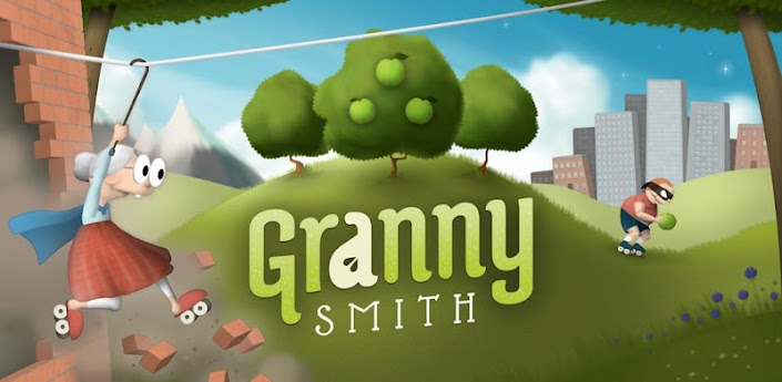 Granny Smith brings elderly roller-skating action to TegraZone for Android