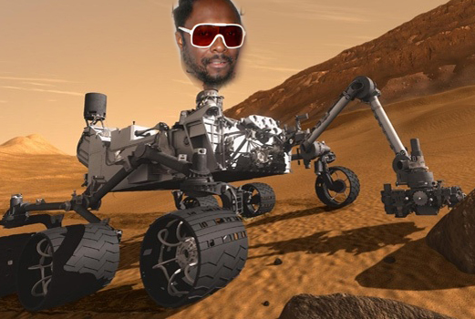 will.i.am to give Curiosity a Mars premiere of latest track