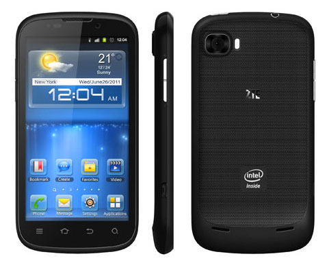 ZTE Grand X IN appears as first ICS smartphone with Intel Inside