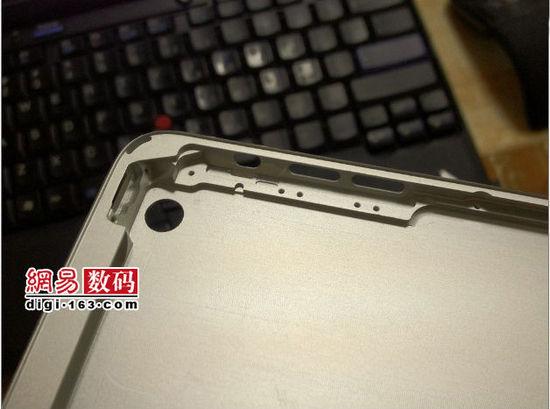 iPad mini backplate appears in HD photos