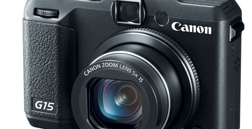 Canon PowerShot G15, 50x optical zoom SX50 HS, and WiFi S110 debut
