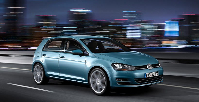 2013 VW Golf makes official debut