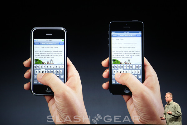 iPhone 5 4-inch Retina display detailed with massive resolution
