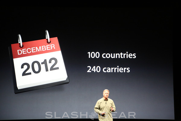 iPhone 5 priced at $199 with pre-orders starting September 14th