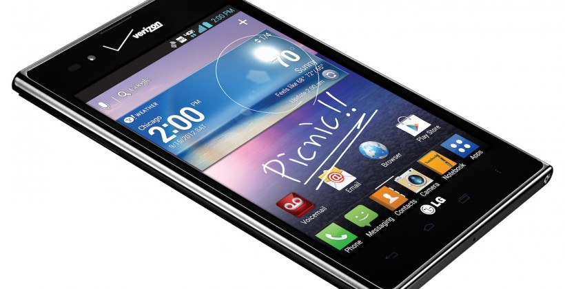 Verizon Intuition by LG brings 4G phablet fun on September 6