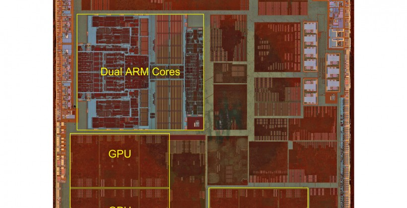 Apple A6 teardown reveals dual-core CPU, tri-core GPU power