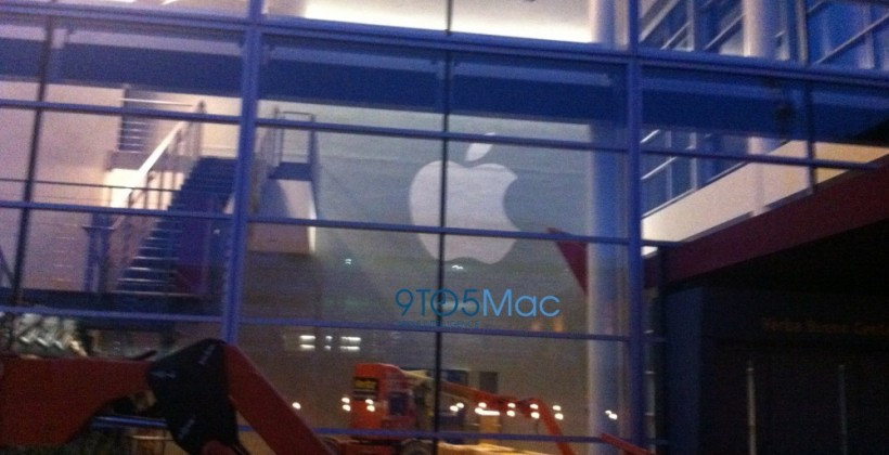 Apple prepping Yerba Buena Center for iPhone 5 reveal