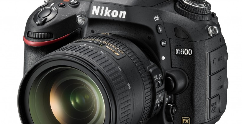 Nikon D600 24.3MP DSLR official with remote phone/tablet control